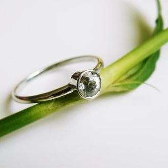 Золотое кольцо с сапфиром Magnesium (Mg)