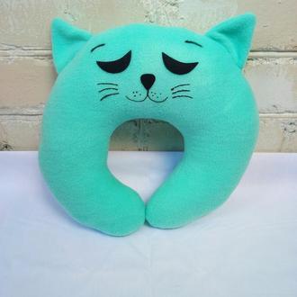 Подушка под шею, кот № 1
