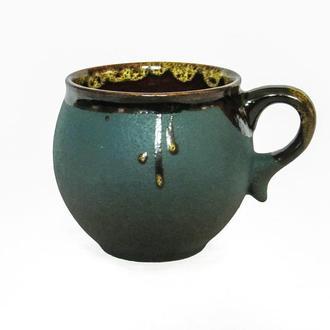 Чашка-шарик зеленый