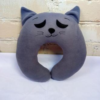 Подушка под шею, кот № 2