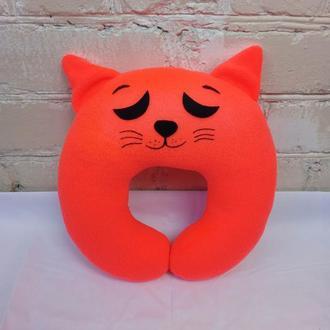 Подушка под шею, кот № 3