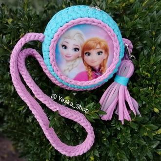 Сумка для девочек с Анной, сумка с Анной