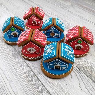 """Пряничный домик - """"Новогодний"""" мини 3D"""