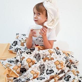 детское постельное белье, детский постельный комплект, постель