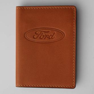 Обложка для прав Ford желтая 5070