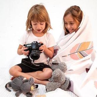 """Комплект """"Перышко"""" для новорождённых, детское постельное белье, постель"""