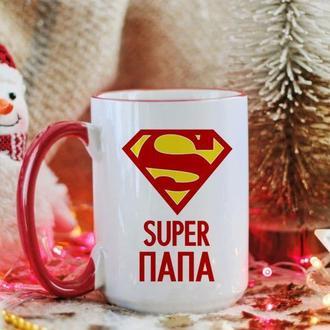 Большая чашка супер папа