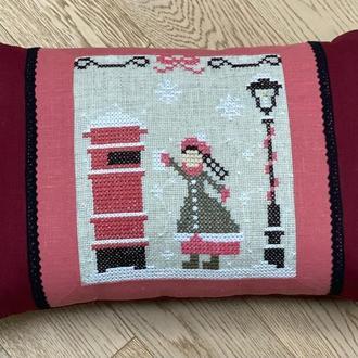 Декоративная подушка Письмо Деду Морозу