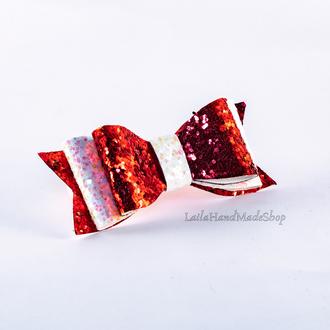Праздничная повязка с элегантным бантиком