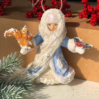Ватная игрушка «Снегурочка»