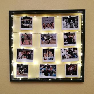 Фотоколаж, мультирамка з підсвічуванням