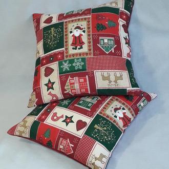 Декоративная наволочка на диванную подушку (чехол на подушку)