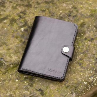 Большой кошелек / Портмоне из плотной кожи