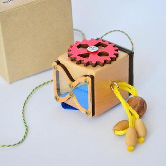 Бизикубик з выключателем