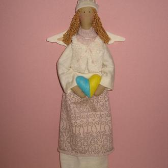 "Интерьерная кукла ""Украинский ангел"""