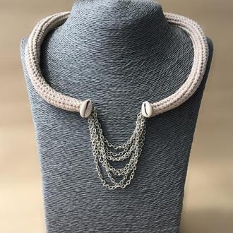 Вязанное украшение