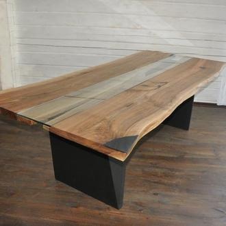 Стол в стиле LIVE EDGE Loft лофт производство мебели и декор интерьера