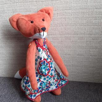 Игрушка текстильная Лиса