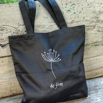 Эко- сумка с вышивкой