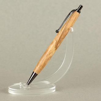 Деревянная авторучка, модель Мираж - оливковый клён