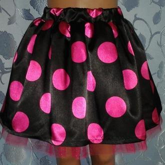 Детская летняя юбка на резинке, модель № 28