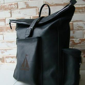 Очень большой вместительный рюкзак ролл / большой размер/ инд пошив