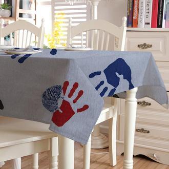 Скатерть с акриловой пропиткой Time Textile Hands 140х160 см