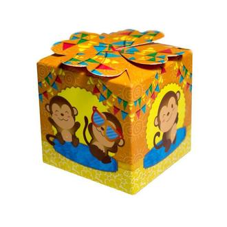 Бонбоньерка для детского праздника с обезьянками (арт. B-65)