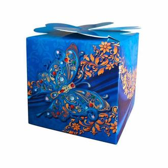 Красивые синие бонбоньерки (арт. B-123)