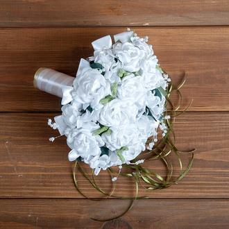 Букет-дублер для невесты белый