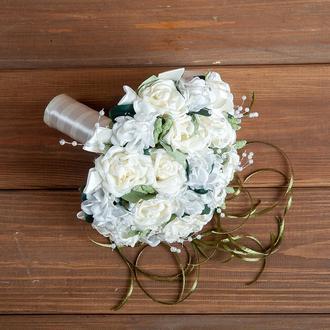 Свадебный букет-дублёр  айвори