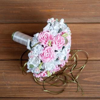 Свадебный букет-дублёр  розовый