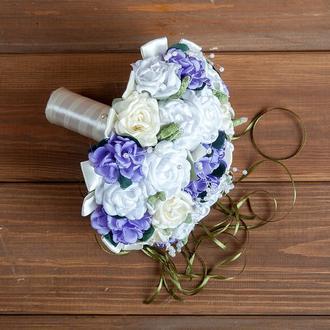 Букет-дублер для невесты сиреневый