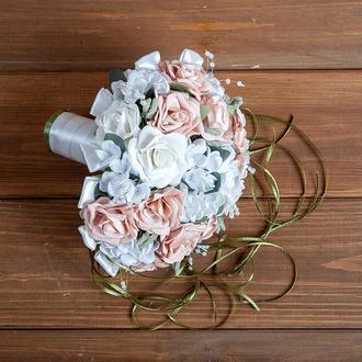 Букет-дублер для невесты пудра