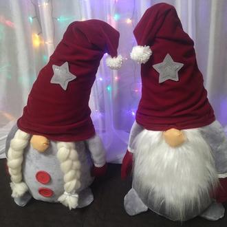 Рождественские скандинавские гномы