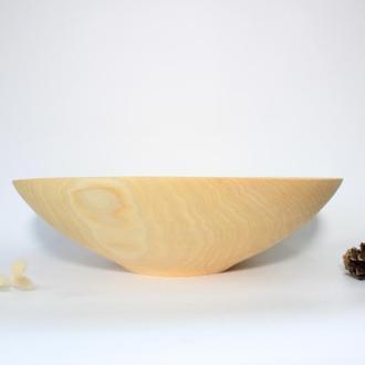 Большая фруктовница/салатник из дерева