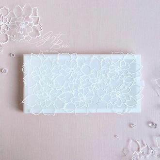 "GiftBox ""Sky flowers"" - открытка в коробочке"