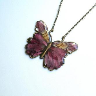 Украшение  «Цветочная» бабочка»