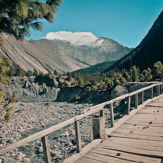 """Фотокартина """"Непал. Дорога в горы"""""""