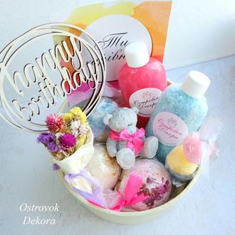 """Подарочный набор """"Для самой нежной"""", подарок для девушки, дочки, племянницы, сестры, крестницы"""