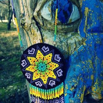 Амулет стиле индейских племен Уичоль