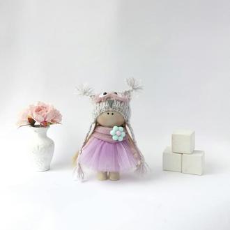 лялька з тканини сова