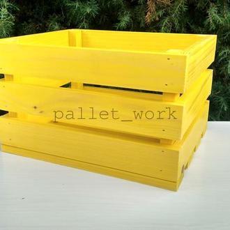 Ящики декоративные из дерева