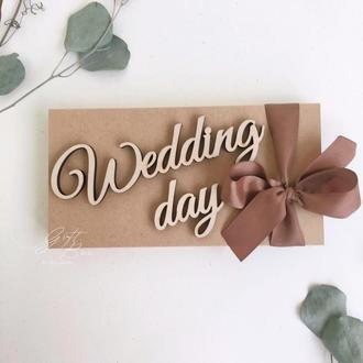 "Gift Box ""Wedding day Craft""- открытка в коробочке"