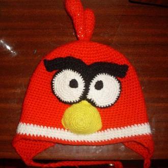 Детская зимняя шапка Engry Birds