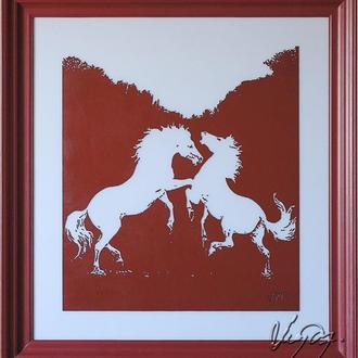 """""""кони красные"""""""