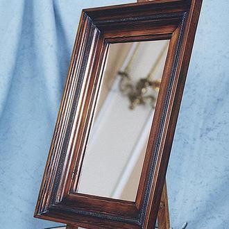 зеркало настольное, стилизованное под мольберт