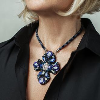 Крест Хрустальный в стиле Dolce & Gabbana
