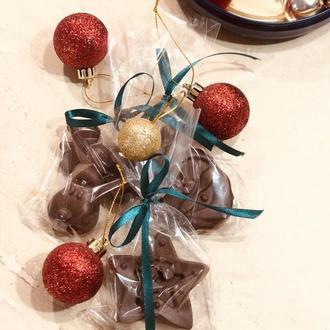 Молочный шоколад  (веган) Подарок на новый год