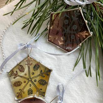 Набор рождественских украшений, новогодний декор, елочные игрушки